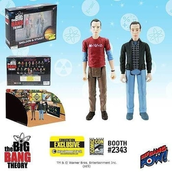 SDCC Big Bang Exclusive Sheldon and Stuart