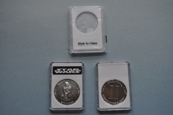 Modern Star Wars Coin Slab