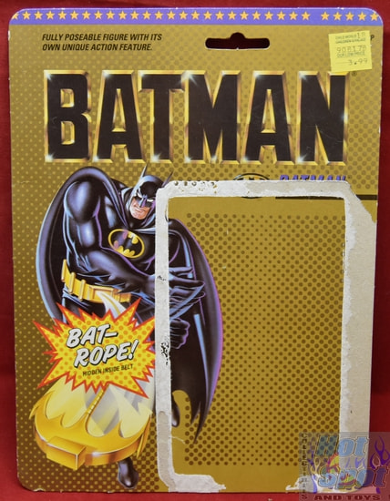 Batman w/ Bat-rope Toy Biz Card Back