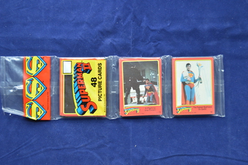 Superman 2 Movie Cards Sealed