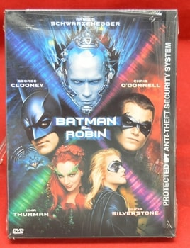 1997 Batman And Robin DVD Movie