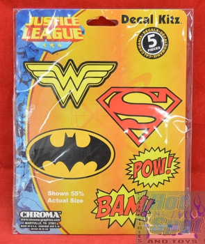 Justice League Decal Kitz