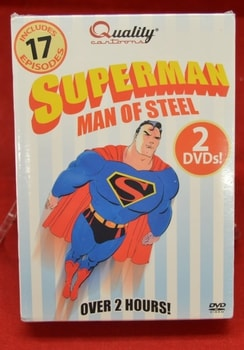 Superman Man of Steel DVD's
