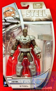 Total Heroes Superman Steel Figure