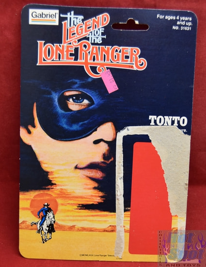 The Legend of the Lone Ranger Tonto Card Back