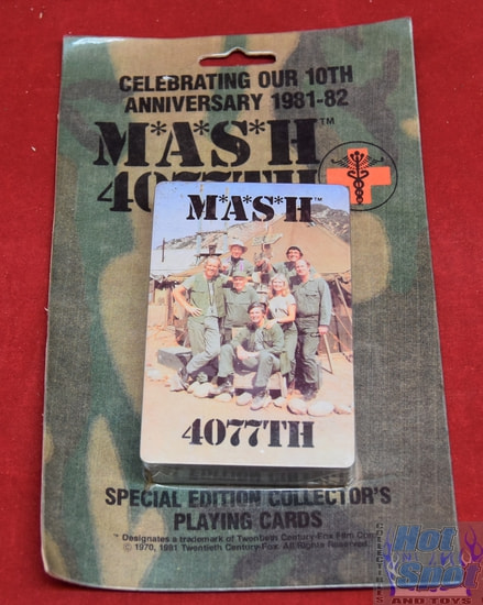 MASH 4077TH Special Edition Collectors Playing Cards