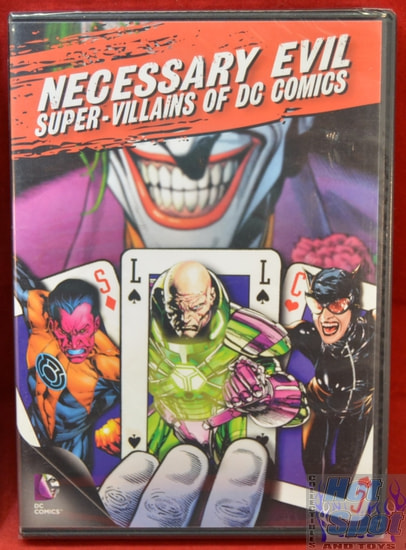 Necessary Evil Super-Villians of DC Comics DVD