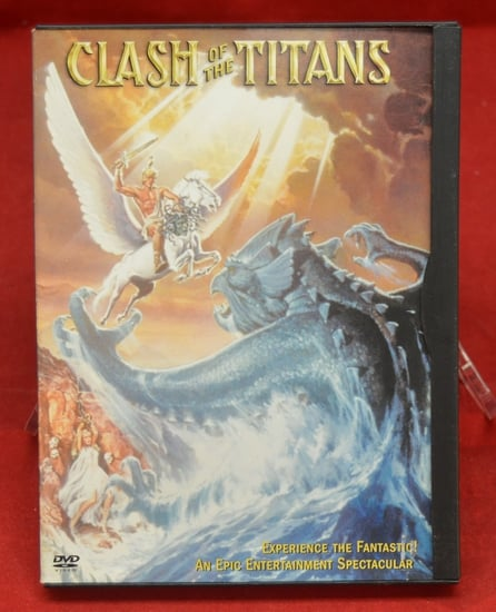 Clash of the tTitans Original DVD