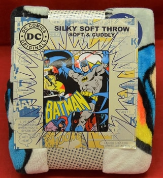 Batman Fleece Throw Blanket