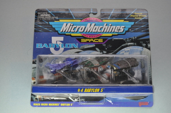 Babylon 5 Micro Machines Set #4