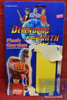 Defenders of the Earth Flash Gordon Card Backer