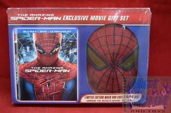 Amazing Spider-Man Exclusive Movie Gift Set Blu-Ray/DVD