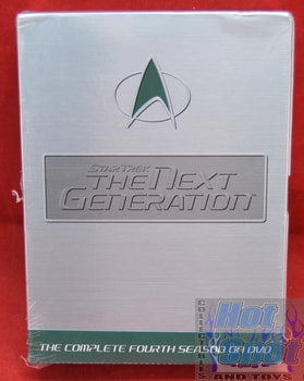 Star Trek TNG The Next Generation Season 4 on DVD