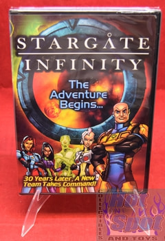 New Stargate Infinity The Adventure Begins... DVD