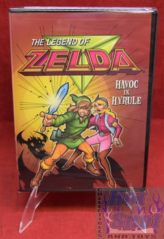 New Sealed The Legend of Zelda Havoc in Hyrule DVD