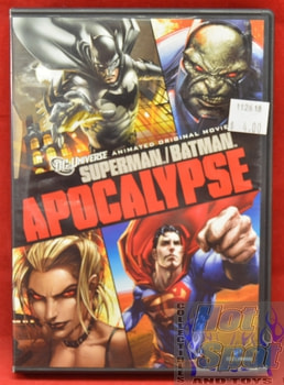 Batman Superman Apocalypse DVD