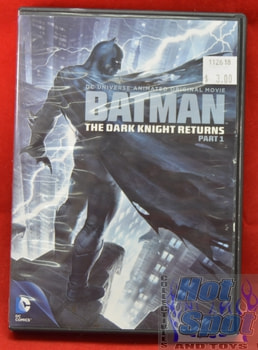 Batman The Dark Knight Returns Part 1 DVD Animated Series