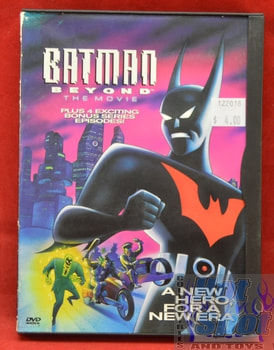 Batman Beyond The Movie DVD