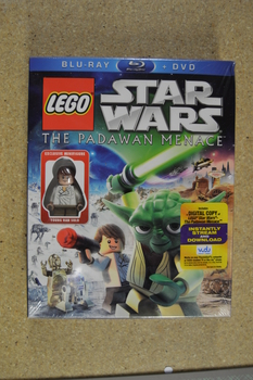 Star Wars The Padawan Menace Lego Dvd