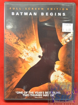 Batman Begins DVD Full Screen Edition