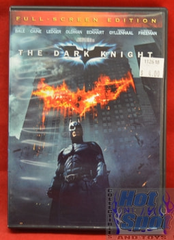 Batman The Dark Knight DVD Full Screen Edition