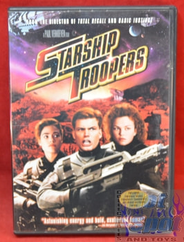 Starship Trooper movie on DVD