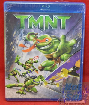TMNT Animated 2007 Movie on DVD