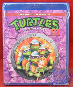 TMNT Teenage Mutant Ninja Turtles 3 Turtles in Time BluRay