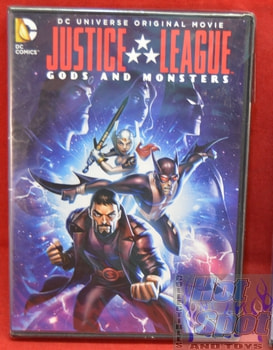 Justice League Gods and Monsters Movie on DVD