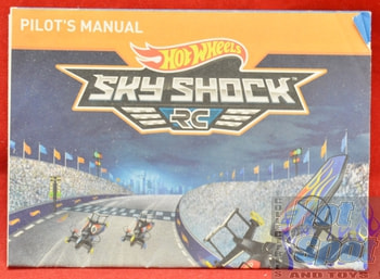 Hot Wheels Sky Shock RC Pilot's Manual BOOKLET ONLY