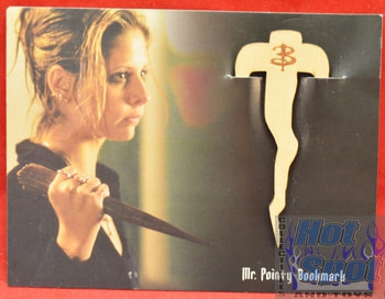 Loot Crate Buffy the Vampire Slayer Mr. Pointy Book Mark