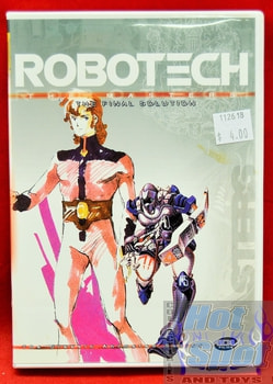 Robotech The Masters The Final Solution