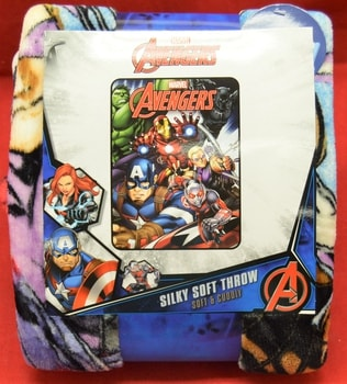 Avengers Fleece Throw Blanket