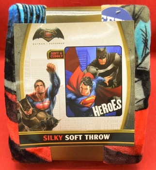 Batman Vs Superman Fleece Throw Blanket