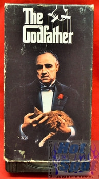 The Godfather Set on VHS