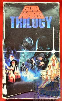 Star Wars Trilogy Original Set on VHS