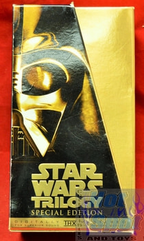 Star Wars Trilogy Set Special Edition on VHS