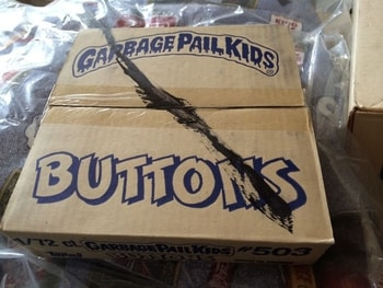 Garbage Pail Kids Pins Sealed Box of 72
