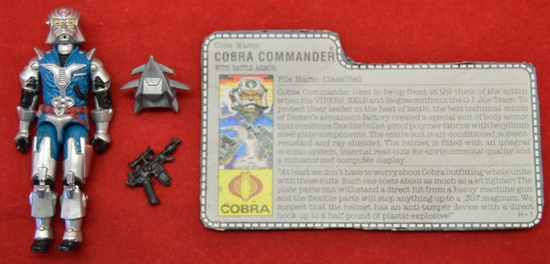 1987 Cobra Commander Figure