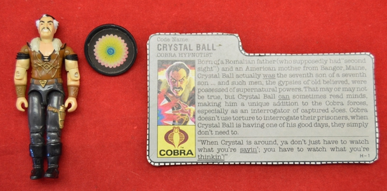 1987 Crystal Ball Figure