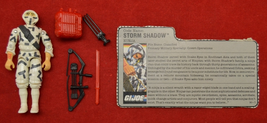 1988 Storm Shadow Figure