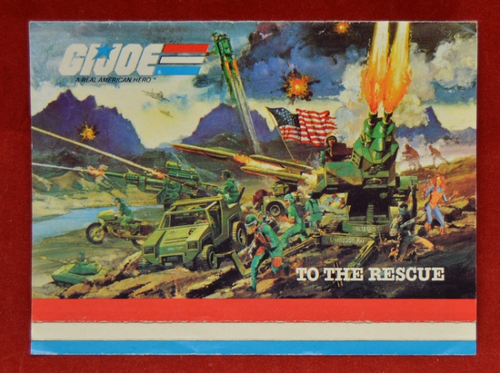 Catalog Insert 1983 To The Rescue Cover