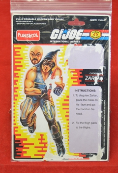 Funskool Zartan Full Card Back