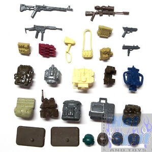 1983 Battle Gear Accessory Pack #1 Parts