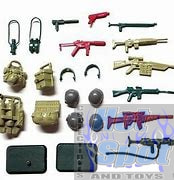1985 Battle Gear Accessory Pack #3 Parts