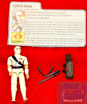 1984 Storm Shadow Figure