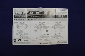 2009 cobra Claw Instructions