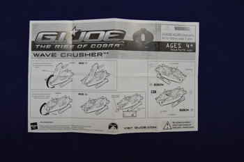2009 Wave Crusher Instructions
