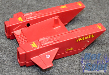 1987 Cobra Jet Pack Bottom Hull Red