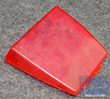 1989 Hiss II Windshield Part Red